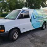 Sapphire Scientific 370  in a Chevy Van
